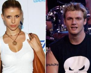 Nick Carter and Melissa Schulman. Photo: Twitter