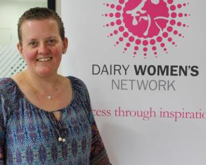New Dairy Women's Network Western Southland co-regional leader Esmerelda Duffin is looking...
