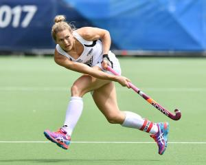 Black Sticks co-captain Stacey Michelsen. Photo: Getty Images