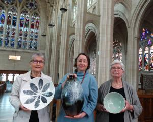 The beauty of St Paul's Cathedral makes a fabulous backdrop for an exhibition of pottery...