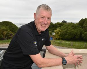 Surf Life Saving New Zealand chief executive Paul Dalton, who was in Dunedin yesterday for a...