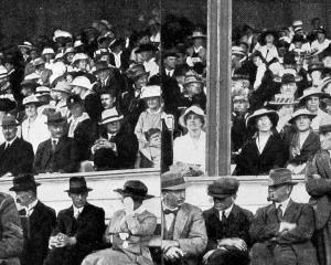 A section of the crowd at the Otago A. and P. Society's 41st summer show in Dunedin. - Otago...