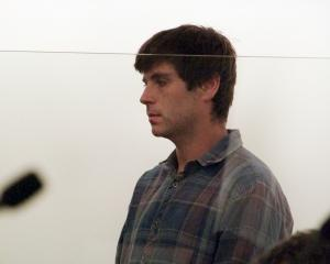 Andrew Henderson in court. Photo: Rob Kidd