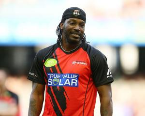 Chris Gayle. Photo: Getty Images