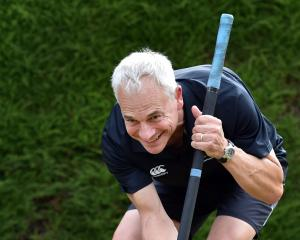Croquet player Chris Shilling, who has been selected in the New Zealand team to compete at the...