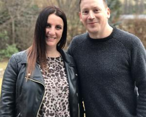 Francesca Voza and James Stapley.