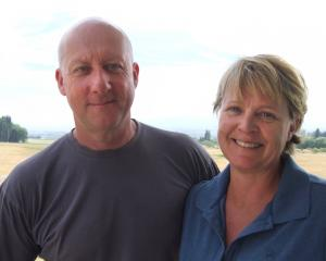 Simon Norwick and Janine Smith are embracing their new lifestyle. Photo: Sally Rae