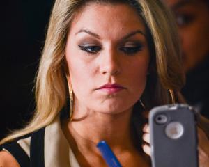 Mallory Hagan, the 2013 Miss America pageant winner. Her appearance was later mocked by the...