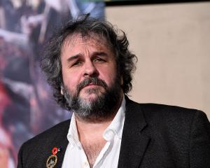 Sir Peter Jackson. Photo Getty