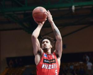 The Wildcats' Jean-Pierre Tokoto led all scorers with a 25-point haul. Photo Getty