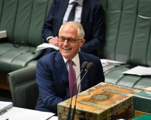 Australian Prime Minister Malcolm Turnbull told parliament the legal change belonged to all...