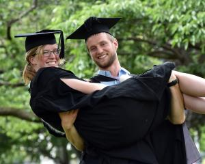 Natalie Cadzow and her husband Alastair Cadzow (both aged 24) will graduate from the University...
