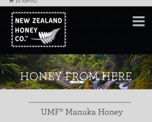 But the New Zealand Honey Company remains trading while a sale is sought, as pictured on its...