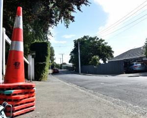 Jeffery St, in Andersons Bay, which has the wrong size water pipes. Photo: Tim Miller