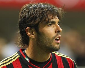 Kaka looks on during a game for AC Milan. Photo: Getty Images