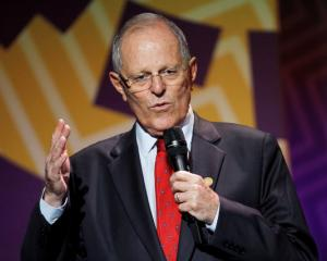 An anti-corruption unit is investigating Peruvian President Pedro Pablo Kuczynski (above) and ex...