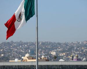 Mexico flag. Reuters