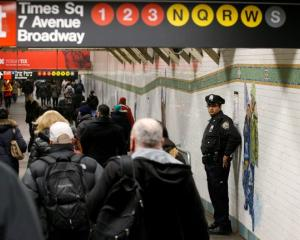 New Yorkers will see an increased police presence around mass transit and places where people...