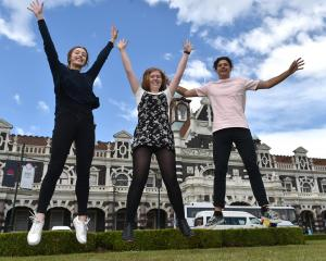 Eliza Ching (21), Kacy Cosgrove (20) and Oliver Johnston (20) are thrilled to be  recipients of a...