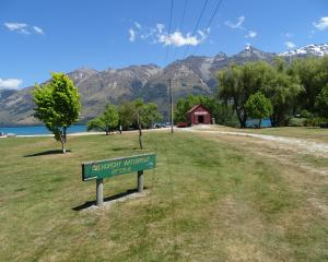 The Glenorchy lakefront PHOTO: TRACEY ROXBURGH