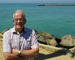 Dr Ron Sim says Oamaru Harbour needs work to make it safer for users. Photo: Craig Baxter