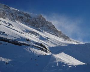 Glacier 3000 in Les Diablerets, Swiss Alps. Photo: Reuters