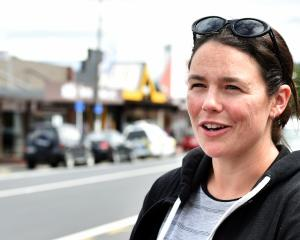 Mosgiel resident Ashley Thomson is frustrated after the Mosgiel water source was shifted to the...