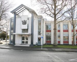 The man was sentenced to six months' home detention when he appeared in the Whanganui District...