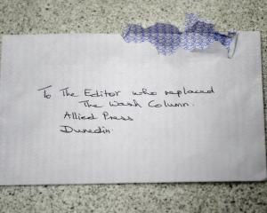 The address on this envelope made me go all gooey - how could a simple journalist replace a...