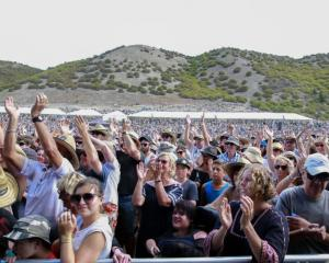 About 18,000 people attended the concert on Saturday. Photo supplied
