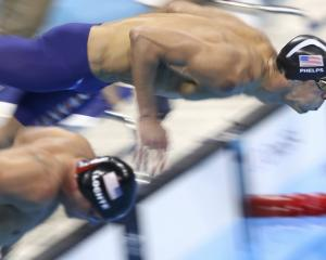 Americans Ryan Lochte (left) and Michael Phelps will battle it out again in the 200m IM final....