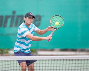 Queenstown tennis star Ben McLachlan. Photo: Ben McLachlan
