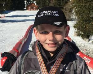 Ranfurly boy Hamish Crossan won a gold medal in his age group and was runner-up for the Nicholas...