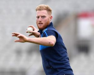 Ben Stokes at training for England. Photo: Getty Images