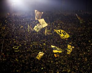Borussia Dortmund fans, who contribute to making the Bundesliga the Europe highest attended...
