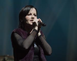 Dolores O'Riordan performing in Paris in May last year. Photo: Getty Images
