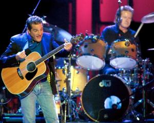 Glenn Frey of the Eagles performs in Las Vegas. Photo: Reuters