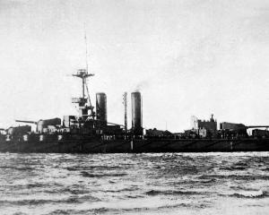 Guy Scholefield sat with the Grand Fleet commander-in-chief, Admiral John Jellicoe, in the...