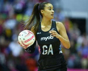 Maria Folau (nee Tutaia) of New Zealand Silver Ferns. Photo: Getty Images