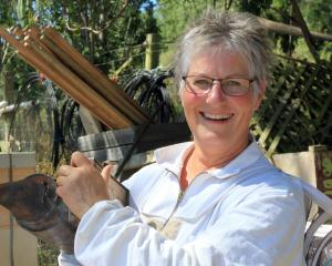 Backyard Beekeeping is proving a popular class at this year's Sustainable Skills Summer School in...