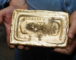 Oceana Gold's new Haile mine in South Carolina upped its gold production; pictured, the first...