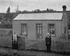 Mr and Mrs Proven at their home in Naseby. They have four sons at the front. - Otago Witness, 16...