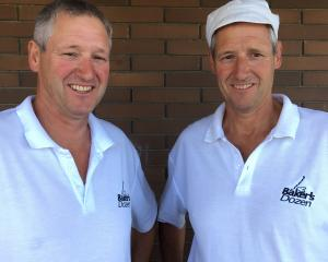 Baker's Dozen co-owners Alan (left) and Peter McCutcheon, of Dunedin, are standing firm on their...