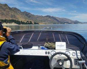 Fish and Game honorary ranger Anthony Marino was patrolling Lake Hawea during Christmas and New...