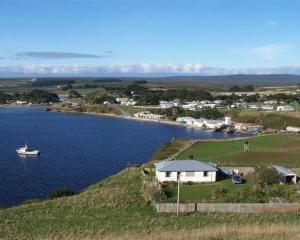 Waitangi, the main town on the Chatham Islands. Photo from Wikimedia Commons.