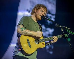 Ed Sheeran will play three concerts in Dunedin next year.