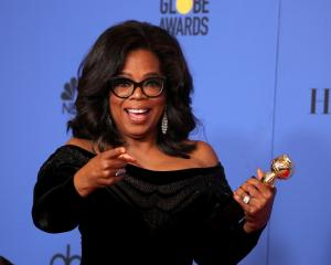 Oprah Winfrey. Photo Reuters