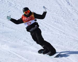 New Zealand's Carlos Garcia Knight finished fifth in the men's snowboard slopestyle at...