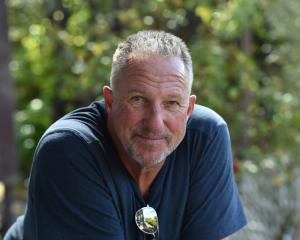 English cricket great Ian Botham in Dunedin yesterday. Photo: Peter McIntosh
