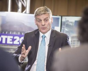 Prime Minister Bill English says he expects his children will be able to buy property without his...